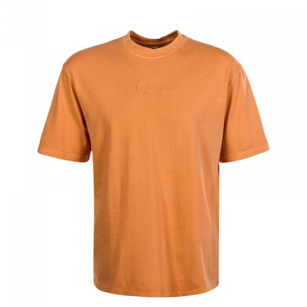 Herren T-Shirt - Small Signature - Orange