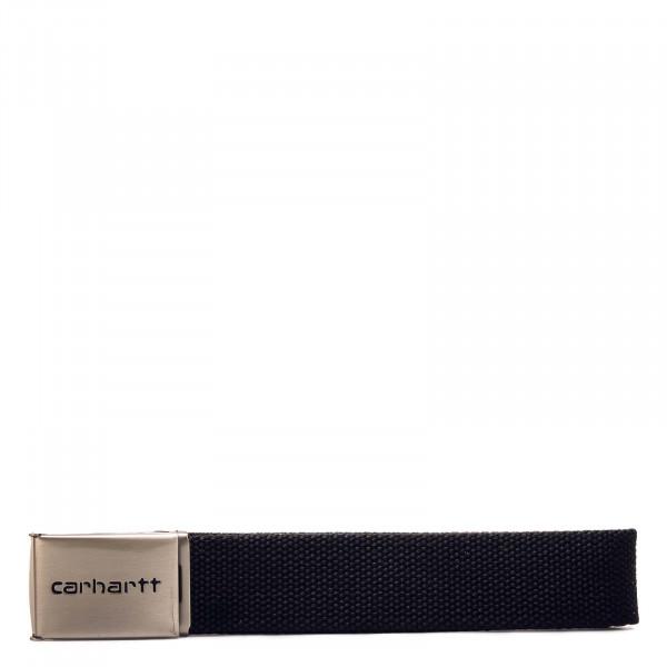 Unisex Gürtel - Clip Belt Chrome - Black