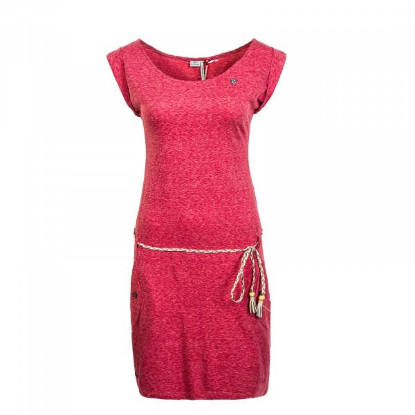 Damen Kleid - Tag - Red