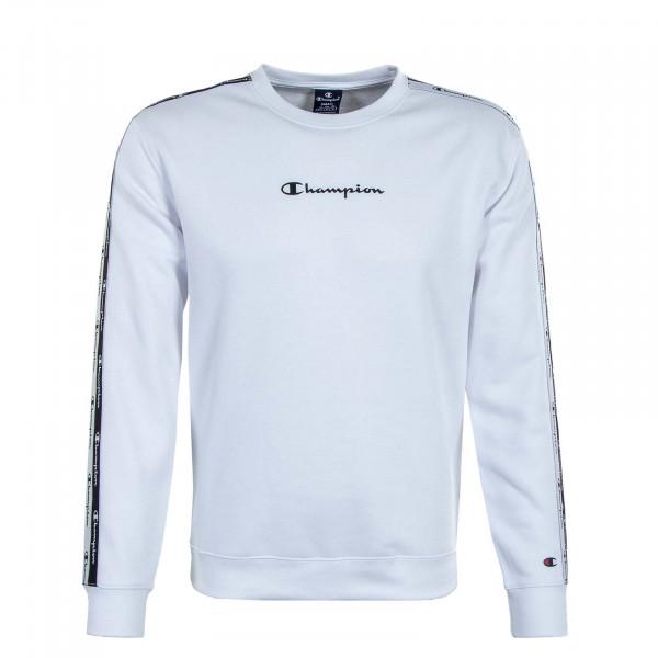 Herren Sweatshirt - Crewneck 216560 - White