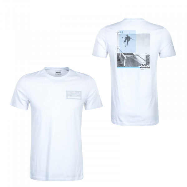 Herren T-Shirt - Cothrough Crew - White