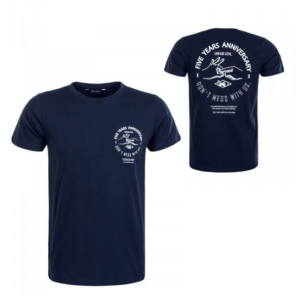 Herren T-Shirt Anniversary Navy