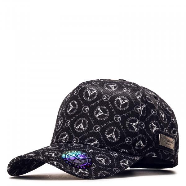 Basecap - Allover Logomuster - Black