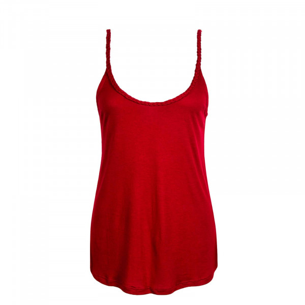 Damen Top Carrie S/L Red
