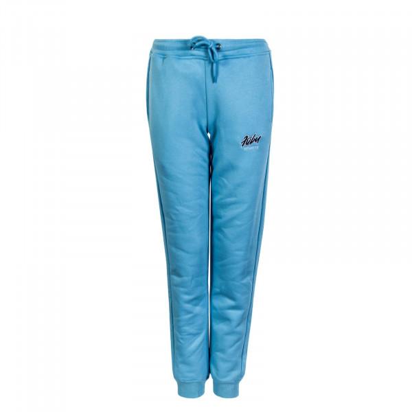 Damen Jogginghose Sports Blue Black White