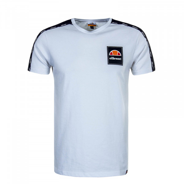 Herren T-Shirt Serchio White Black