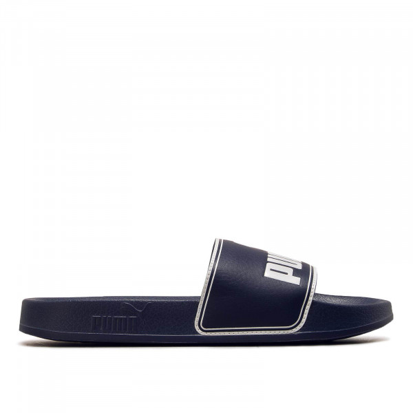 Herren Slide Leadcat Navy White