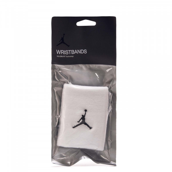 Jordan Jumpman Wristbands White Black