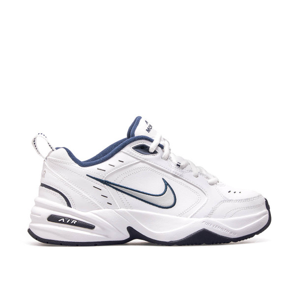 Nike Air Monarch IV White Navy Silver