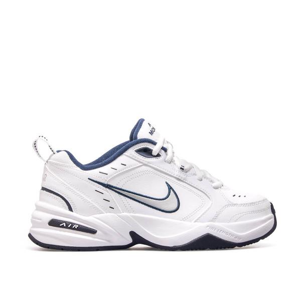 Nike Air Monarch IV White Navy Silver