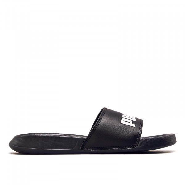 Puma Slide Popcat Black Black White