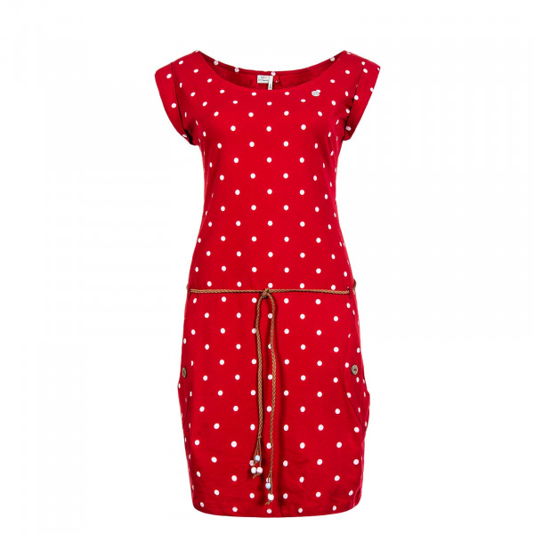 Kleid Tag Dots Red