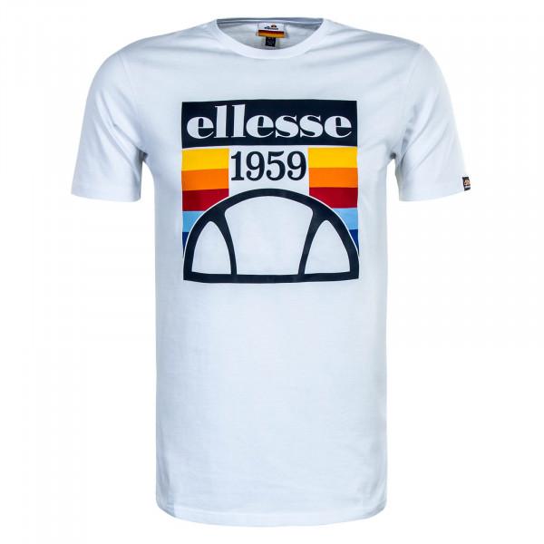 Herren T-Shirt Pirozzi White