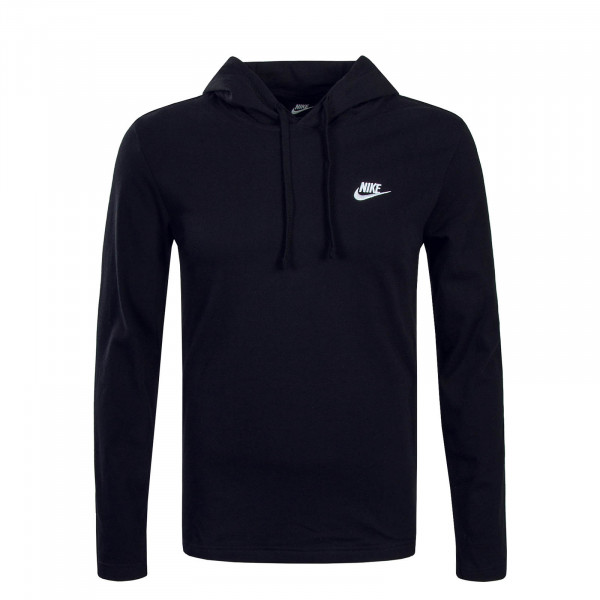 Nike LS NSW Club Black White