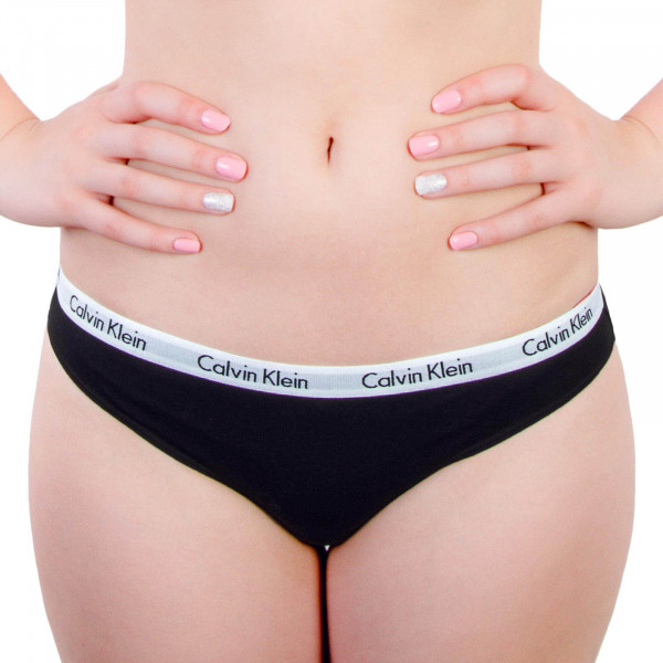CK Wmn Bikini Slip 3Pack Black Black