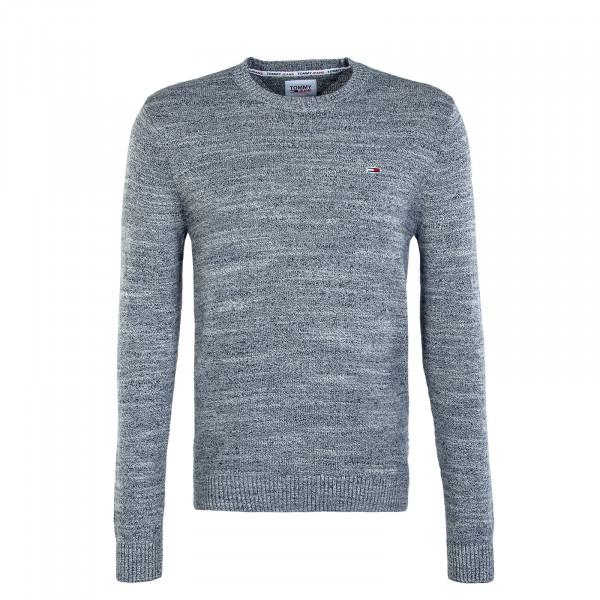 Herren Pullover Essential Textur Twilight Navy Ecru