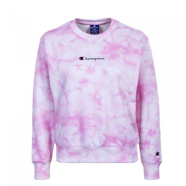Damen Sweatshirt  - Crewneck - White / All Rose