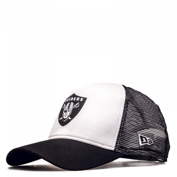 Trucker-Cap Team Colour Block Oakrai Black White