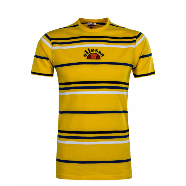 Herren T-Shirt Miniati Yellow Stripe