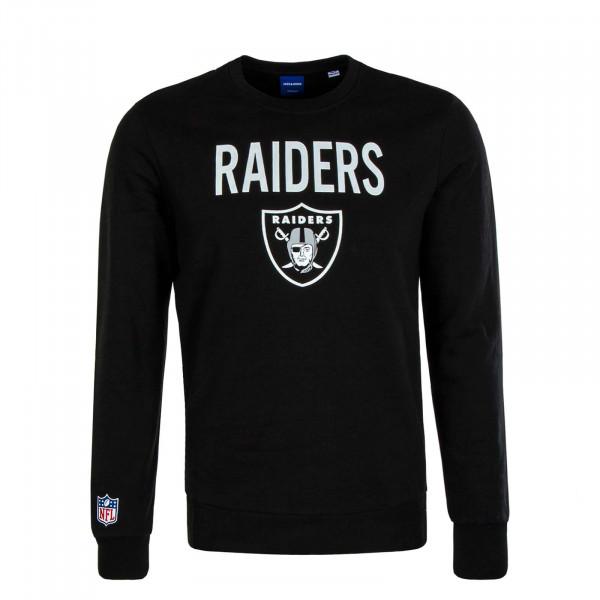 Herren Sweater Superen Raiders Black