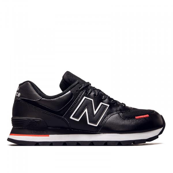Unisex Sneaker - ML 574 DTD - Black / Velocity Red