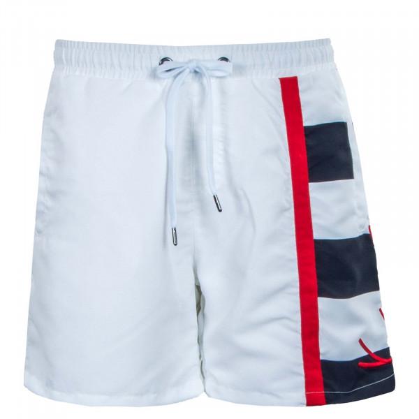 Herren Shorts - Block Boardshorts - White