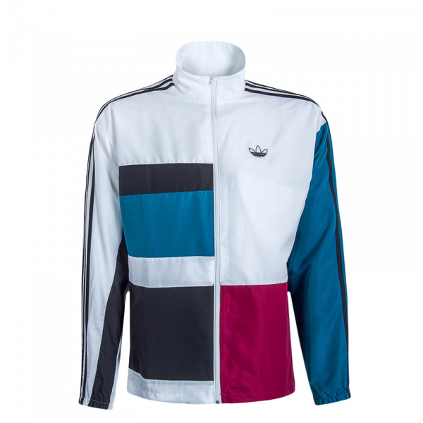 Herren Trainingjacke Asymm White Berry Blue