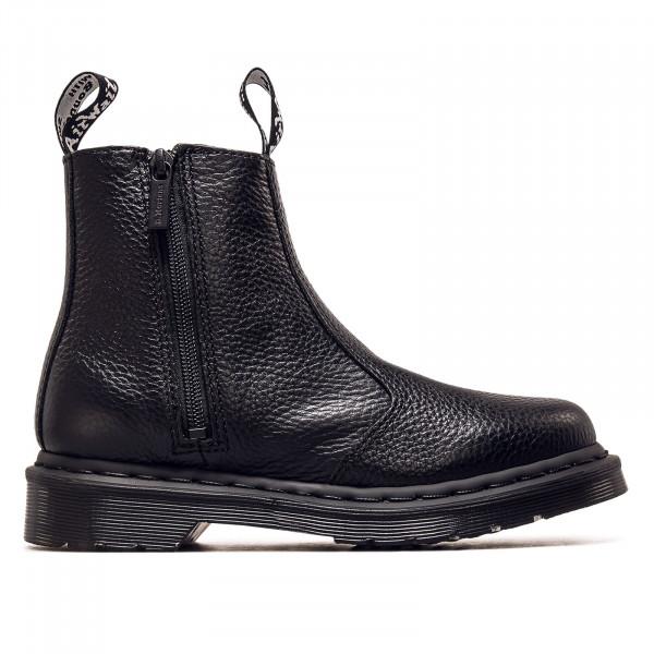 Damen Boots - 2976 W/Zip - Milled Nappa Black