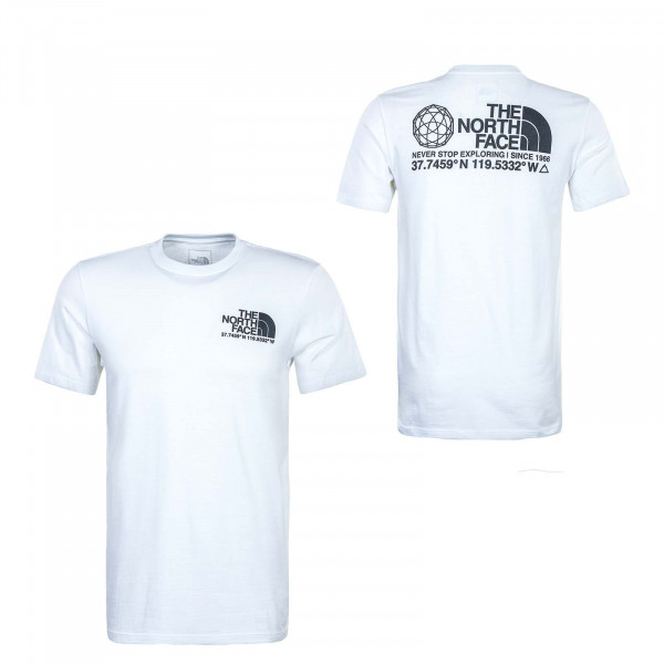 Herren T-Shirt - Coordinates - White