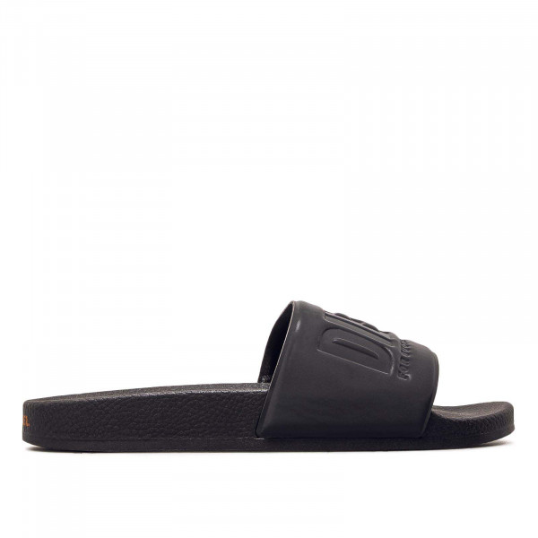 Diesel Slide Valla Black Orange