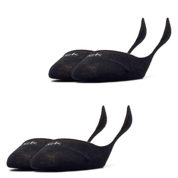 Damen Socken 2er-Pack Liner Logo 1798 Black