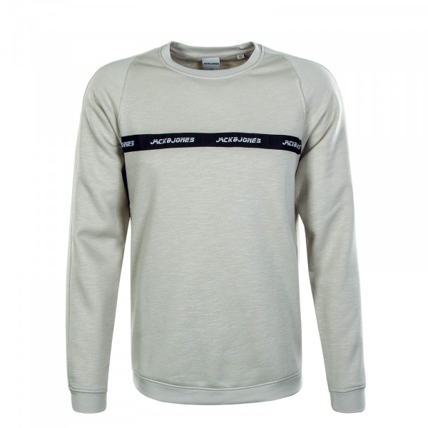 Herren Sweat Train Crew Neck Antarctica Melange
