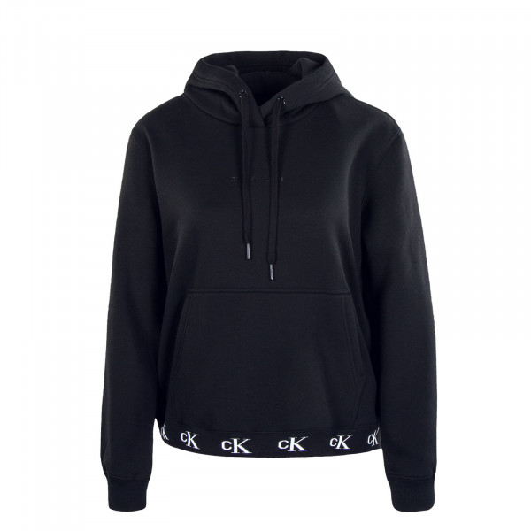 Damen Hoody - Logo Trim 4811 - Black