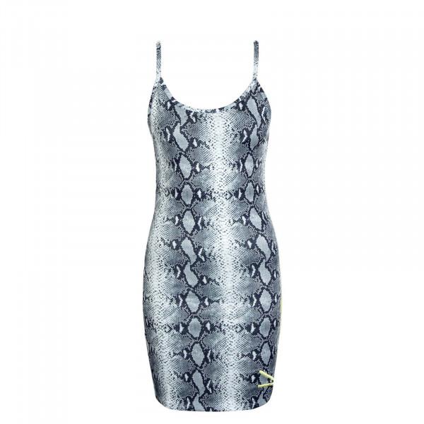 Damen Kleid - Signature Snake - Black / White