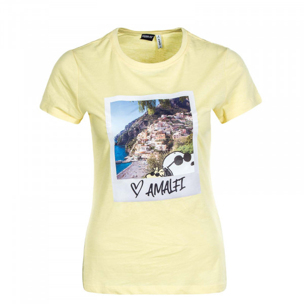 Damen T-Shirt Peanuts Life Fit Photo Box Pineapple