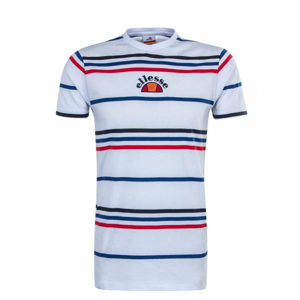 Herren T-Shirt  Miniati White Stripe
