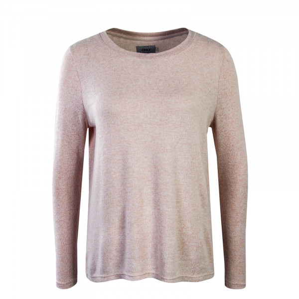 Damen Longsleeve Knit Maye Draped Rose