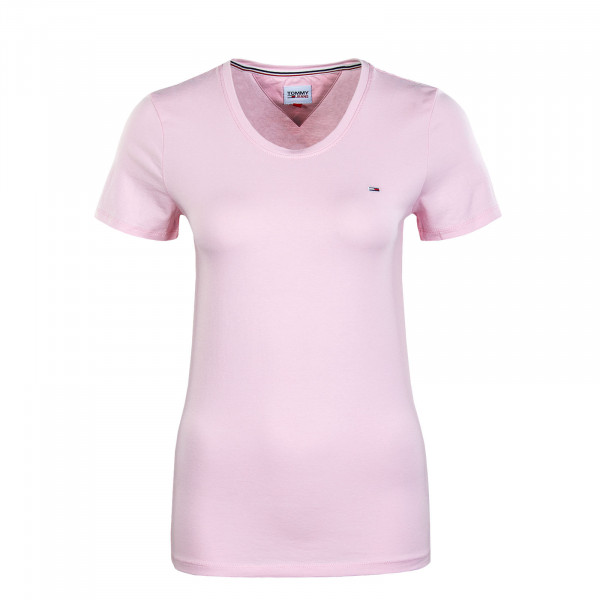 Damen T.Shirt - Stretch Crewneck - Romantic Pink