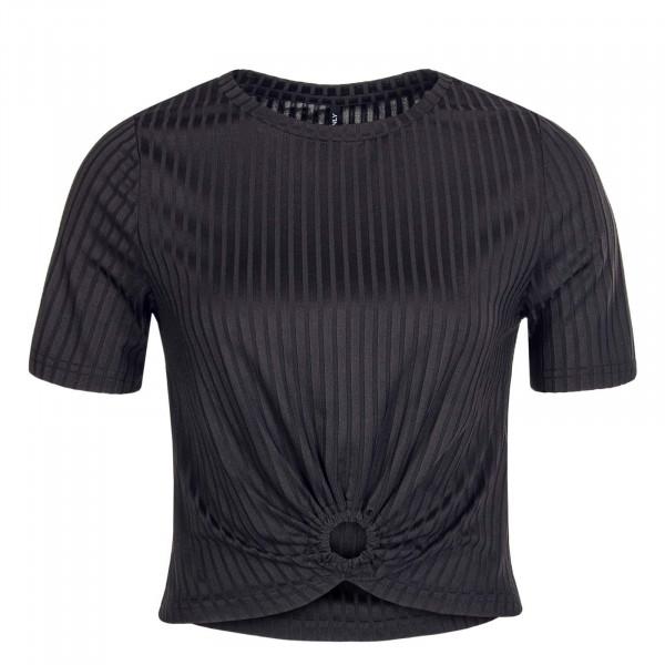 Damen T-Shirt Simone S/S O-Ring Black