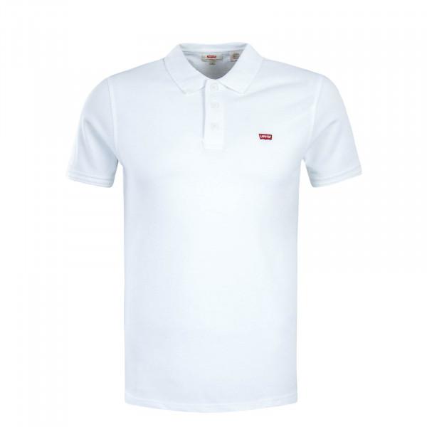 Herren Poloshirt Housemark White