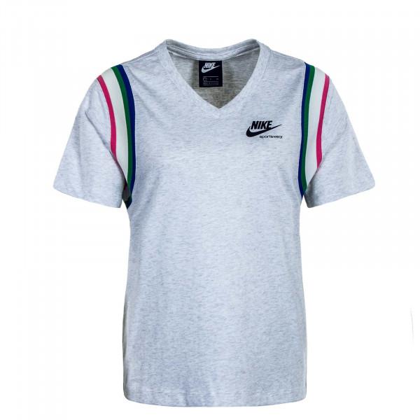 Damen T-Shirt NSW Heritage Top Grey Pink Blue Green