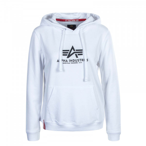 Damen Hoody - New Basic - White