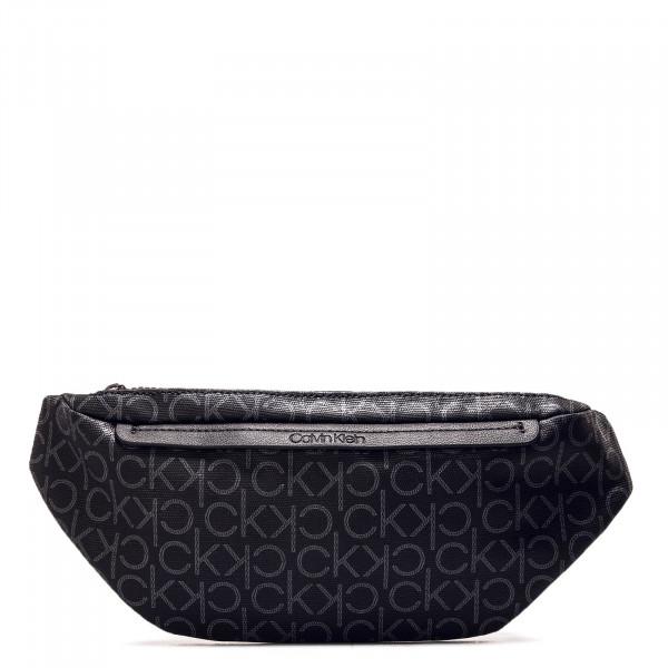 Hip Bag Mono Black Silver
