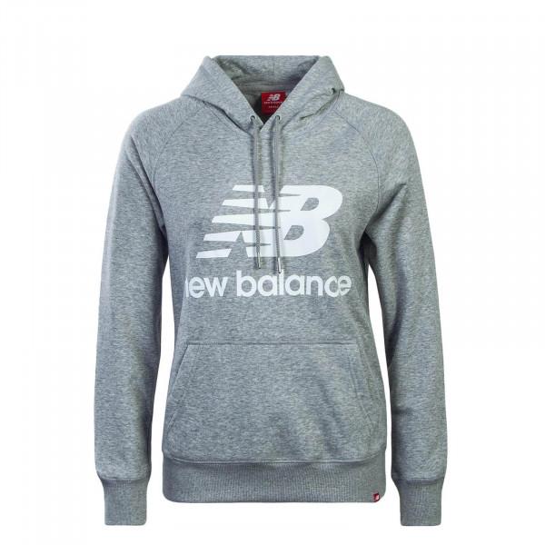 17179a30814e New Balance Wmn Hoody WT91523 Grey