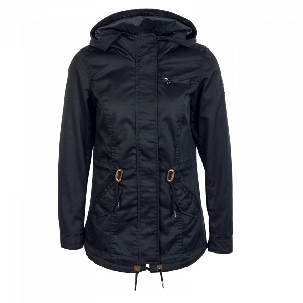 Damen Jacke - Lorca Canvas Parka - Black