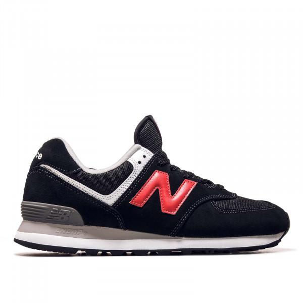 Herren Sneaker - ML574HY2 - Black / Red