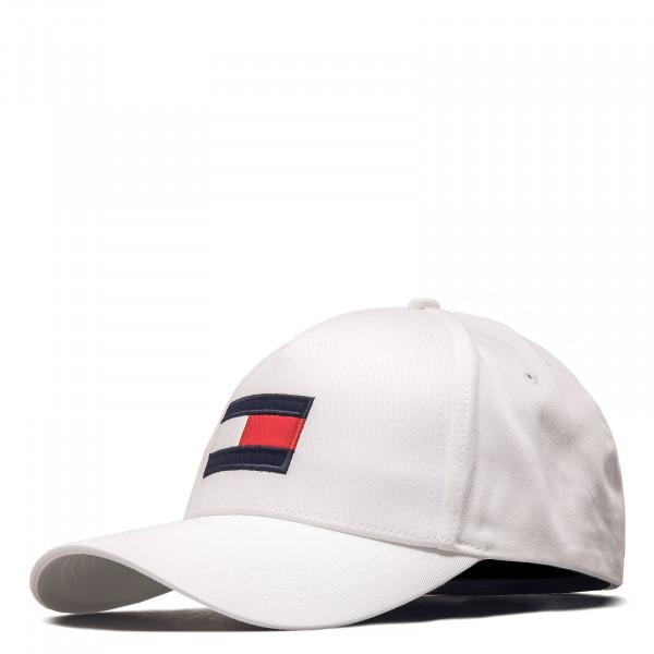 Unisex Cap - Big Flag 6943 - Optic White