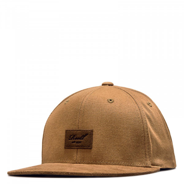Cap - Suede - Ocre Brown