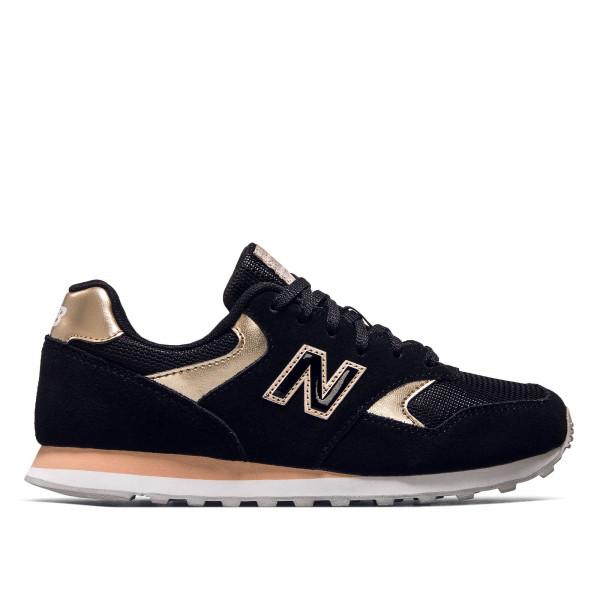 Damen Sneaker - WL393 MTL - Black