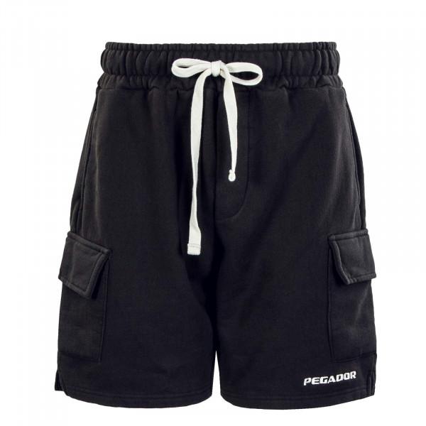 Herren Short - Heavy Cargo Washed - Black